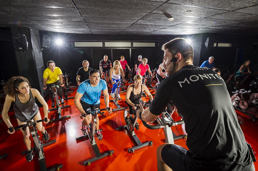 ciclo indoor en Valencia - Atalanta Sport Club-Spa