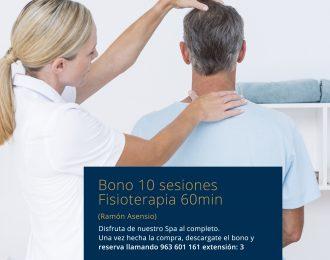 Bono 10 sesiones Fisioterapia Ramón Asensio