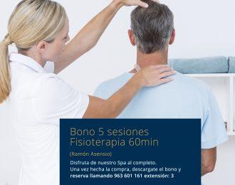 Bono 5 sesiones Fisioterapia Ramón Asensio