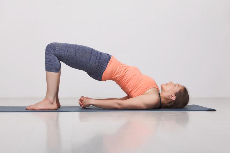 Setu bandhasana Asanas de Yoga en Valencia