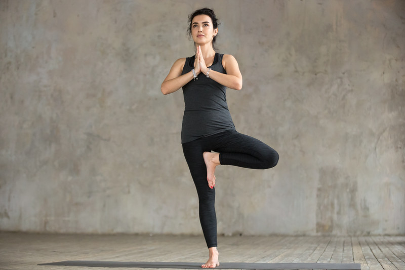 Vrksasana Asanas de yoga en Valencia