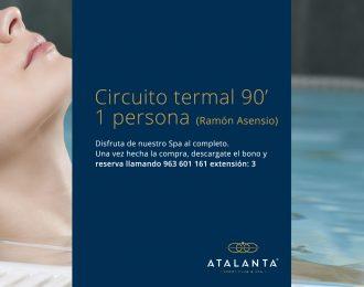 Circuito termal 90'  1 persona (Ramón Asensio)