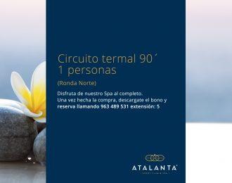 Circuito termal 90'  1 persona (Ronda Norte)
