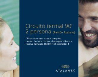 Circuito termal 90'  2 personas (Ramón Asensio)