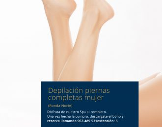 Depilación piernas completas mujer Ronda Norte
