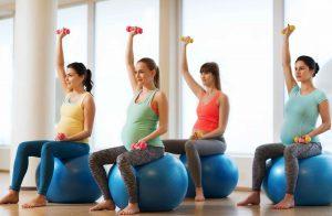 embarazada y gym