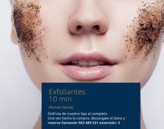 Exfoliantes 10min