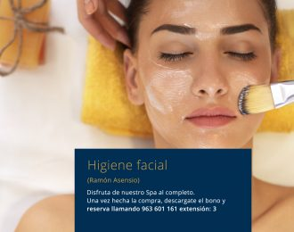 Higiene facial Ramón Asensio