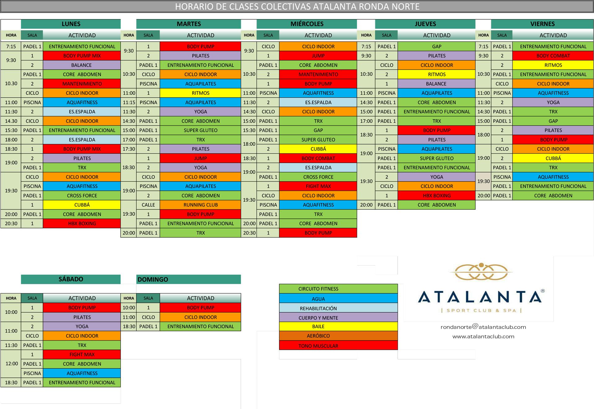 horario-atalanta-ronda-norte