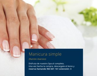 Manicura simple  Ramón Asensio