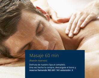 Masajes, relajantes, descontracturantes, deportivo, reafirmante, circulatorio y anticelulítico 1 hora Ramón Asensio