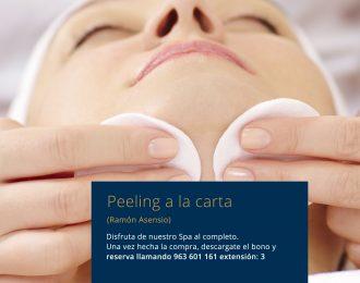 Peeling a la carta Ramón Asensio