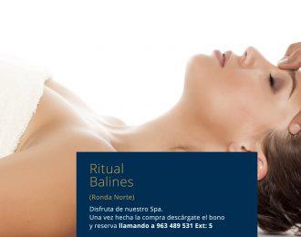Ritual Balinés Promoción Especial Ronda Norte