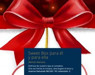 Sweet Box para él y para ella Promoción Especial Ramón Asensio