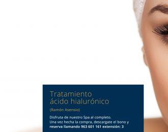 Tratamiento ácido hialurónico Ramón Asensio