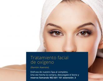 Tratamiento facial de oxígeno Ramón Asensio