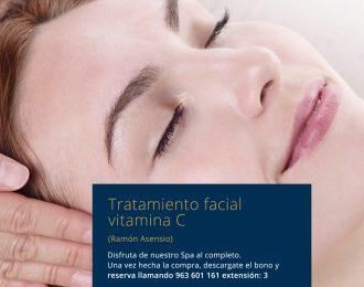 Tratamiento Facial vitamina C Ramón Asensio